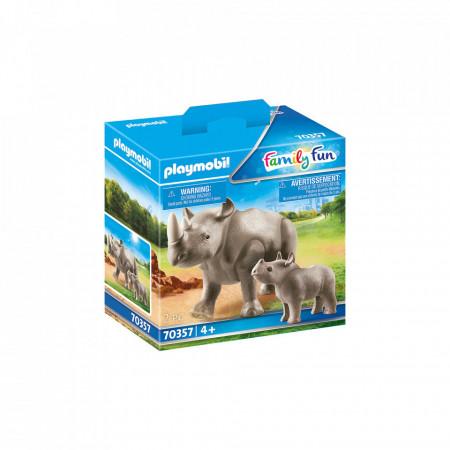 Playmobil Rinocer Cu Pui