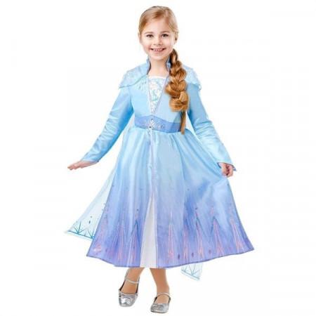Costum Deluxe Elsa De Calatorie - Frozen 2 - Marime S