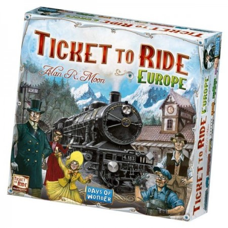 Joc Ticket to Ride Europe