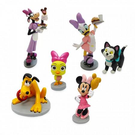 Set 6 figurine Minnie Mouse