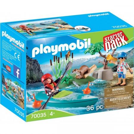 Set de joaca Playmobil, Aventura Cu Caiac