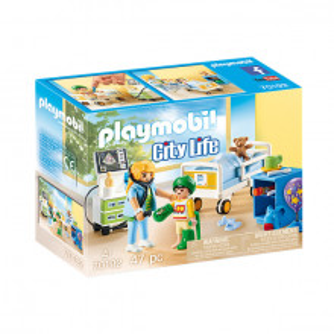 Set de joaca Playmobil City Life, Camera Copiilor Din Spital