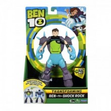 BEN 10 FIGURINE TRANSFORMABILE DELUXE – Shock Rock