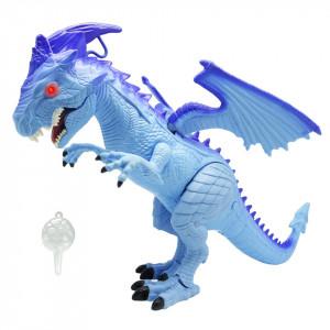 Dinozaur Dragon Cu Respiratie De Gheata