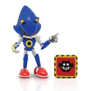 Figurina Articulata Sonic 10 Cm Cu Accesorii - Metal Sonic With Trap Spring