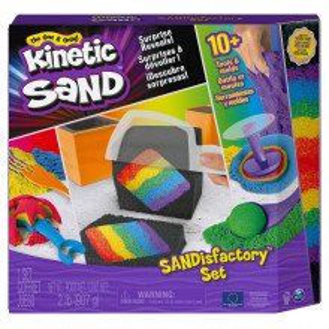 Kinetic Sand Set De Joaca Sandisfactory