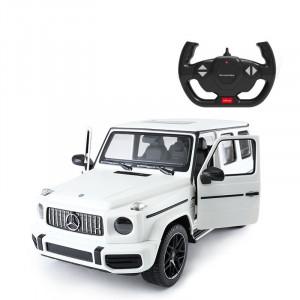 Masina Cu Telecomanda Mercedes-Benz G63 Alb Scara 1 La 14