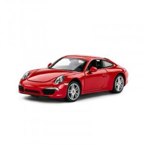 Masinuta Metalica Porsche 911 Rosu Scara 1 La 24