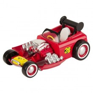 Masinuta transformabila + figurina Mickey din Mickey si pilotii de curse