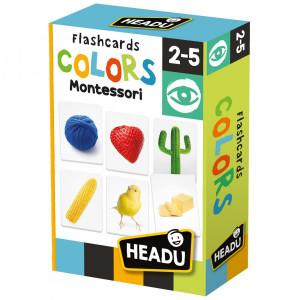 Montessori - Cartonase Sa Invatam Culorile