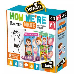 Montessori - Sa Invatam Partile Corpului!