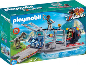 Playmobil Cercetatori - Feribot Si Raptor