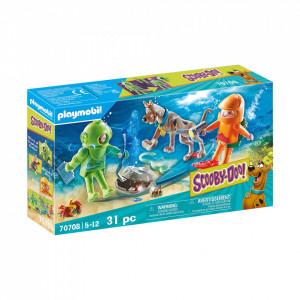 Playmobil Scooby-Doo! Aventuri Cu Fantoma Scafandru