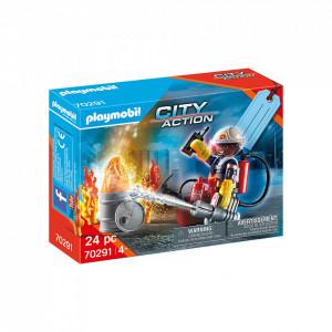 Playmobil Set Cadou Pompier De Salvare