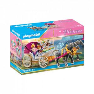 Playmobil Trasura Cu Print Si Printesa