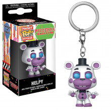 Pop Keychain: Fnaf Pizza Sim: Helpy