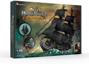 Puzzle 3D Nava Mare Queen Anne 308 Piese