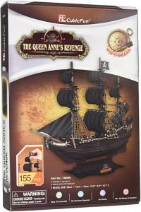 Puzzle 3D Nava Queen Anne 155 Piese