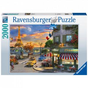 Puzzle Apus In Paris, 2000 Piese