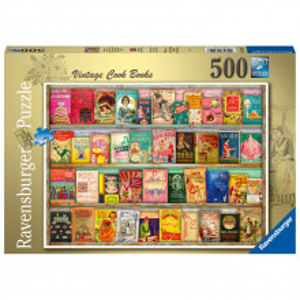 Puzzle Carti De Gatit De Epoca, 500 Piese