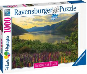 Puzzle Fiord Norvegia, 1000 Piese