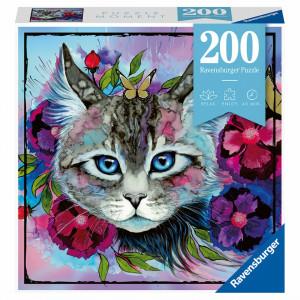 Puzzle Ochi De Pisica, 200 Piese