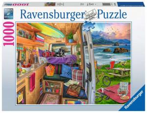 Puzzle Priveliste Din Rulota, 1000 Piese