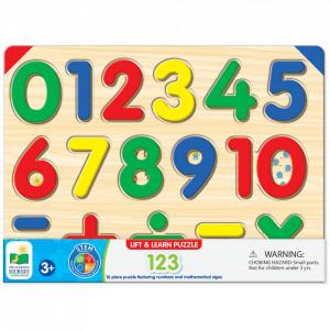 Puzzle - Sa Invatam Numerele