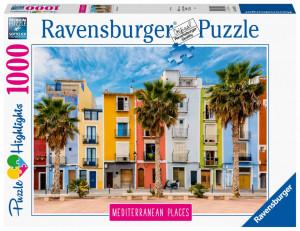 Puzzle Spania Mediteraneana, 1000 Piese