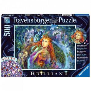 Puzzle Zana, 500 Piese + Stickere