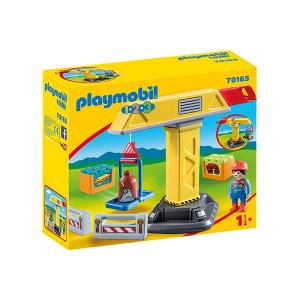 Set de joaca Playmobil 1.2.3, Macara