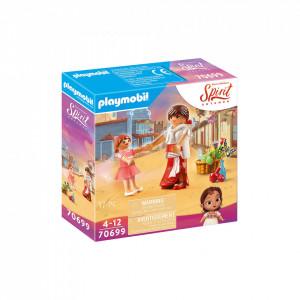 Set de joaca Playmobil Fetita Lucky Si Mama Ei Milagro