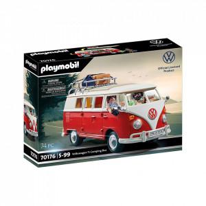 Set de joaca Playmobil Volkswagen T1, Duba Camping