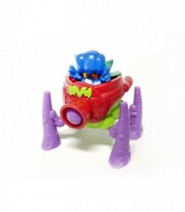 Superzings 3 Superbot Spider Cannon Rosu