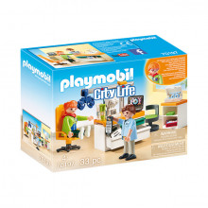 Set de joaca Playmobil City Life, Oftalmolog
