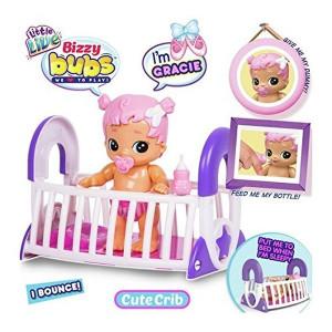 Bebelus interactiv Little Live Bizzy Bubs cu accesorii - Gracie