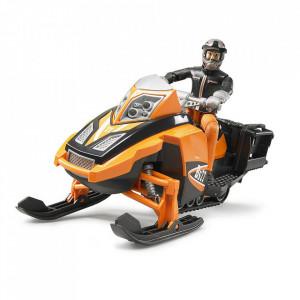 Bruder - Snowmobil Cu Sofer Si Accesorii