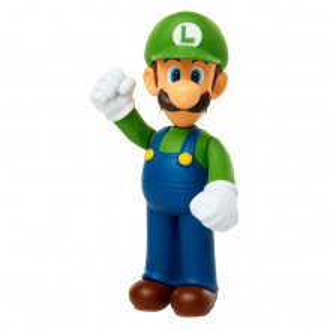 Figurina Mario Nintendo 6 Cm, Standing Luigi