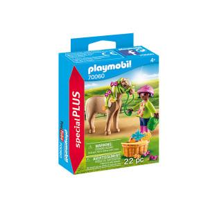 Figurina Playmobil, Fetita Cu Ponei