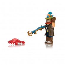 Figurina Roblox Celebrity 8 cm, model Bootleg Buccaneers Fisherman Joe
