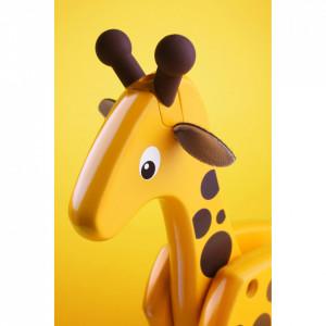 Jucarie De Tras Girafa