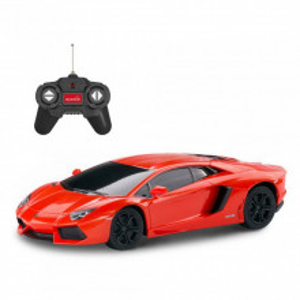 Masina Cu Telecomanda Lamborghini Aventador Rosu Cu Scara 1 La 24