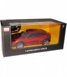 Masina Cu Telecomanda Lamborghini Urus Rosu Cu Scara 1 La 14