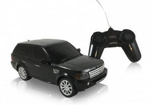 Masina Cu Telecomanda Range Rover Sport Negru Cu Scara 1 La 24