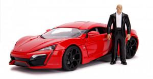 Masinuta Fast And Furious Lykan Hypersport Scara 1:18 Si Figurina Dominic