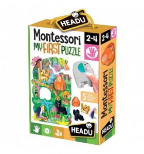 Montessori Primul Meu Puzzle - Jungla