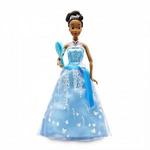 Papusa premium Printesa Disney Tiana cu sunete si lumini