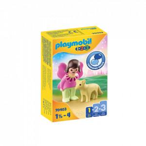 Playmobil 1.2.3 Zana Cu Vulpe
