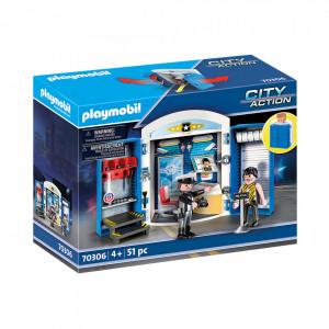 Playmobil Cutie De Joaca - Statie De Politie