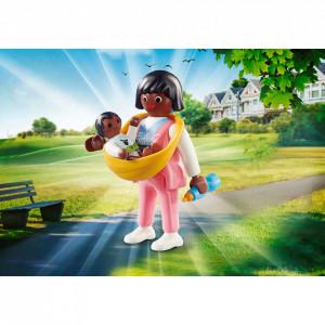 Playmobil Figurina Mama Cu Bebelus
